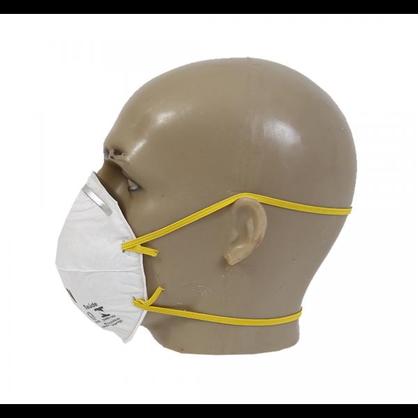 Respirador descartável concha PFF1 8720 branco sem válvula - 3M