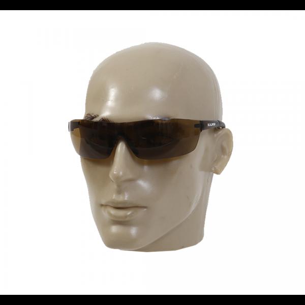 Óculos de segurança Pallas UVA/UVB Anti-Risco marrom - KALIPSO