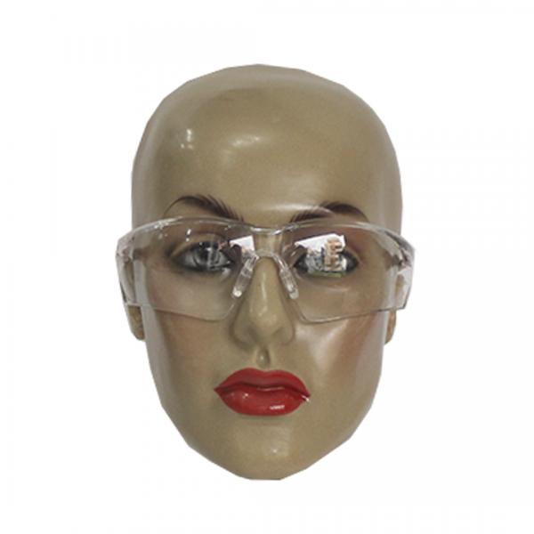 Óculos de segurança 506UP com ajuste na haste rosa Anti-Risco e Antiembaçante incolor - UNIVET