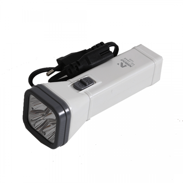 Lanterna manual de 4 LEDS - NSBAO