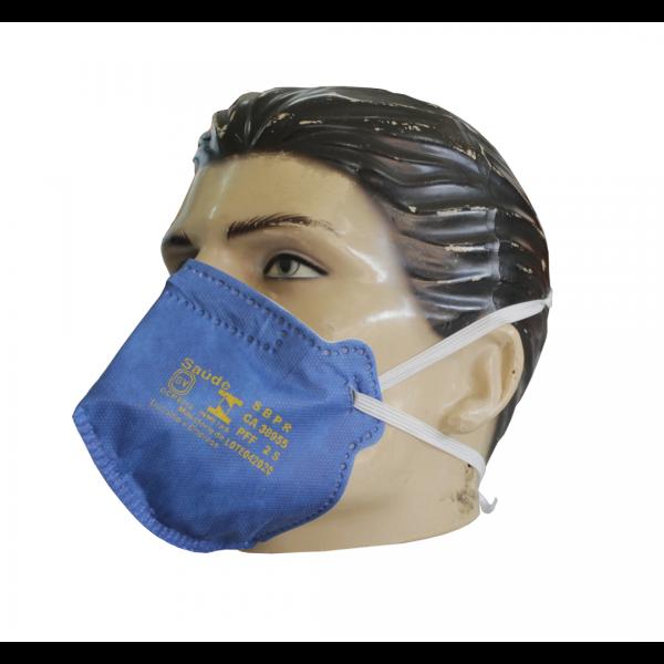 Respirador descartável PFF2 sem válvula - AIR SAFETY