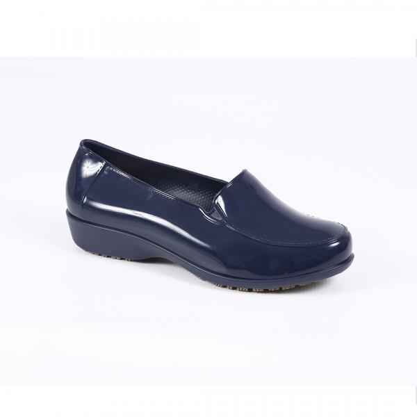 Sapato antiderrapante Sticky Social azul marinho Canadá