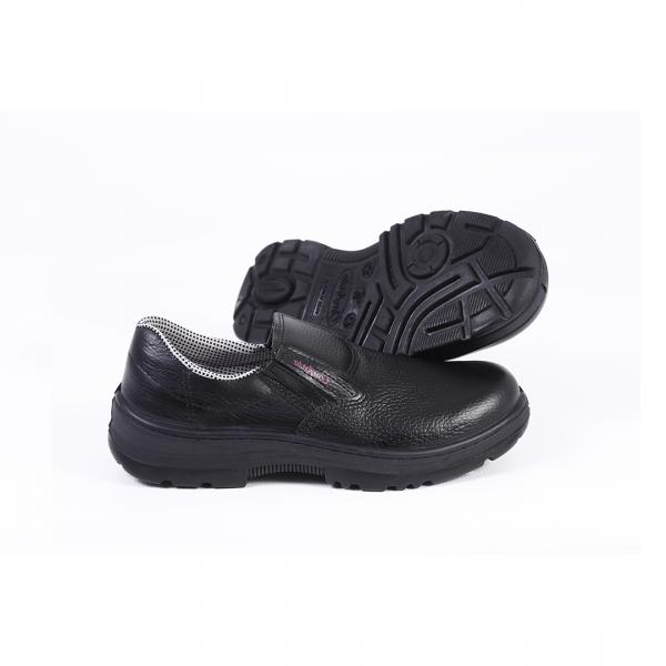 Sapato de elástico bidensidade sem biqueira preto - CONFORTO