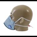 Respirador descartável PFF2 plus azul claro com carvão ativado - AIR SAFETY