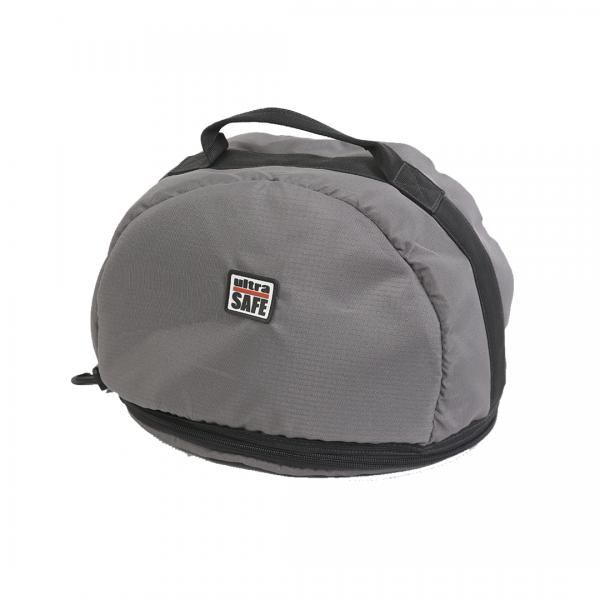 Bolsa para capacete cinza - ULTRA SAFE
