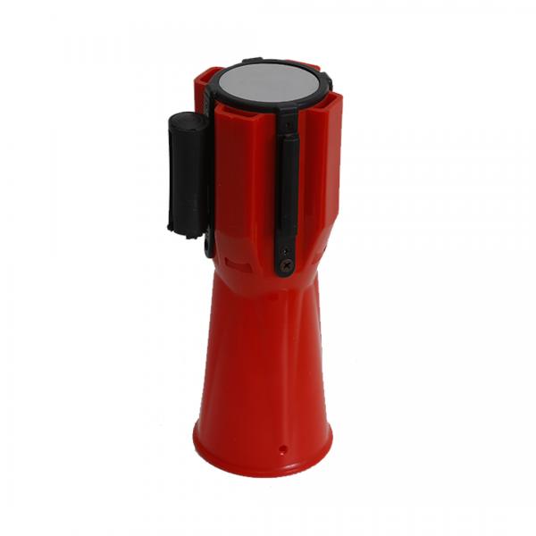 Fita retrátil para cone 3MT branca/vermelha - TELBRAS