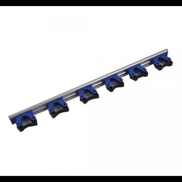Organizador para 6 cabos azul