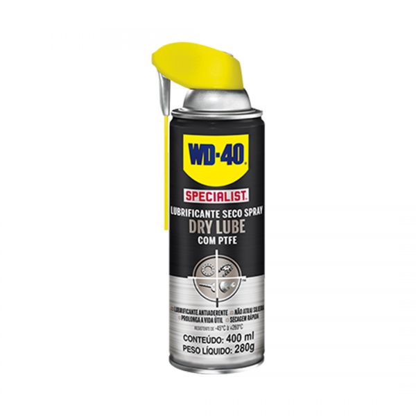 Lubrificante seco Dry Lube 400ML - WD40