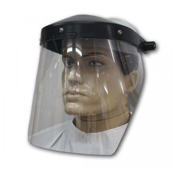 Protetor facial incolor - Carbografite
