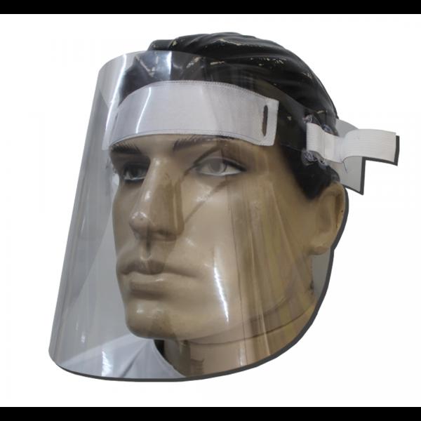 Protetor facial em acetato