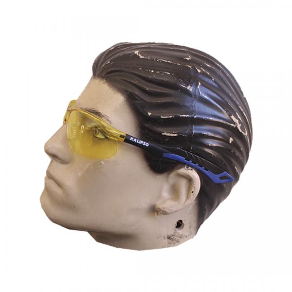 Óculos de segurança Jamaica UVA/UVB Anti-Risco amarelo - KALIPSO