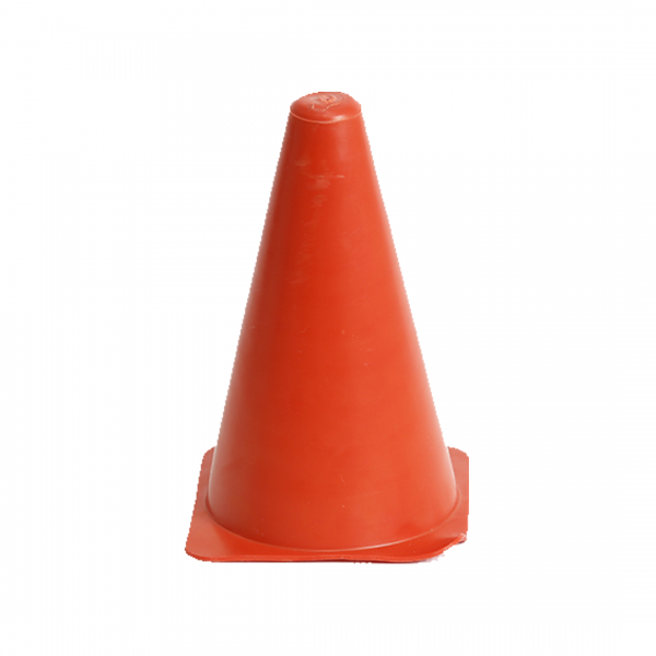 Cone PVC esportivo 20CM laranja - PLASTCOR