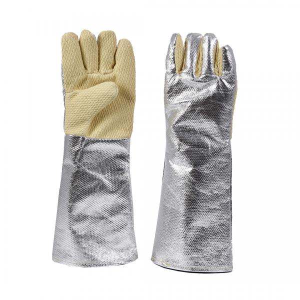 Luva térmica 5 dedos THERM-FIRE alumínio 350ºC punho 45cm