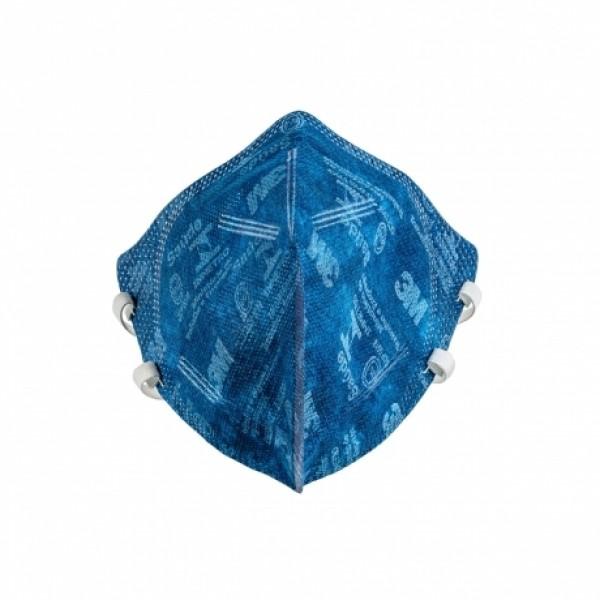 Respirador descartável PFF2 9820 sem Válvula azul - 3M